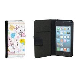 Cover Iphone 4 Custodia in eco pelle